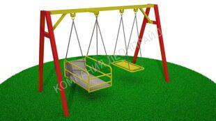 Детские площадки из металла цены