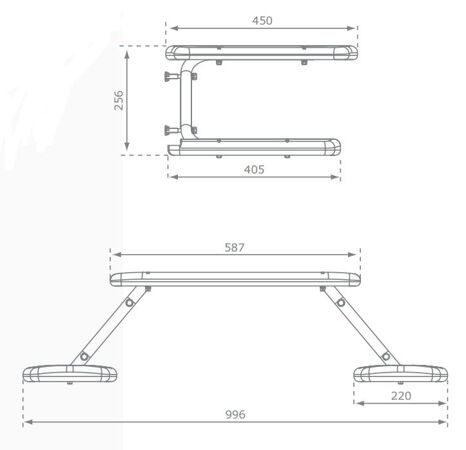 столик размеры